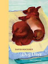 David Hockney Dog Days: Sketchbook by David Hockney | Paperback Book | 978050042