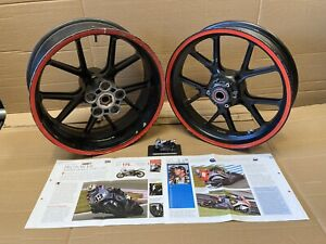 KR500 Proton Race Team wheels Front Rear Marchesini 16 X 3.6 16.5 X 6.25 kr 500