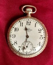 Antique OFFICIAL RR Standard Ball Waltham 16S 19 Jewel Pocket Watch c1901