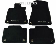 NEW LEXUS OEM FACTORY CARPET FLOOR MAT SET 2013-2017 GS350 GS450H 2WD BLACK