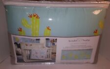 Koala Baby Let'S Explore Collection 4 Piece Crib Bumper Set Cactus New