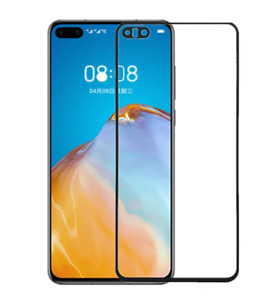 For Huawei P40 / Lite Full Glue Tempered Glass Screen Protector Cover