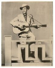 Hank Williams souvenir photo from about 1950