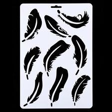 81104 Mini Stencil Feather