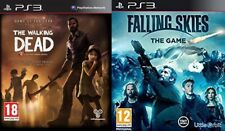 the walking dead goty edition USED       &      falling skies NEW+SEALED PS3 PAL