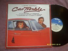 CAR TROUBLE SOUNDTRACK LP-MEAT LOAF,BILLY IDOL,THE ADVENTURES etc