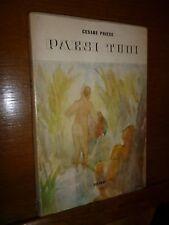 CESARE PAVESE PAESI TUOI Einaudi 1941 prima edizione