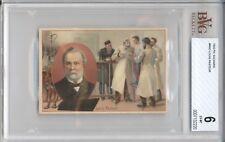 1910 PH Suchard LOUIS PASTEUR PSA 6 EX-MT Pabrique Chocolate Card