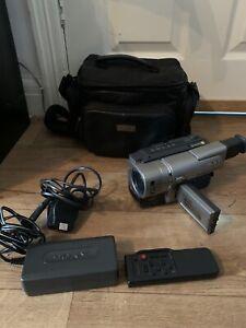 Sony CCD-TRV48E Video8 Hi8 8mm Video Camera Camcorder 80x Zoom Video Transfer