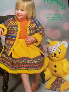 Scallywags Machine Knitting Pattern Book