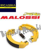 9044 ZAPATAS DE FRENO MALOSSI DELANTEROS TRASEROS VESPA 125 150 200 PX ARCO IRIS