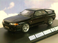 GREENLIGHT 1/43 1989 NISSAN SKYLINE GT-R GTR (R32) BLACK FAST & FURIOUS 7 86229