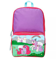 "Stranger Things 16"" My Little Pony Backpack Pink/Purple NWT"