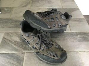 *Pre-Owned* Ozark Trail Hiking Shoes, Grey, Size 12