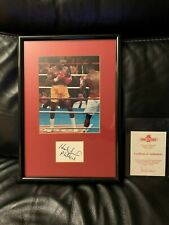Evander  Holyfield 8 X 10 Photo - Autograph Professionally Framed W/Authenticity