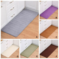 Kinds of Slow Rebound Rugs Rectangle Carpet Bathroom Anti-Skid Fitness Floor Mat