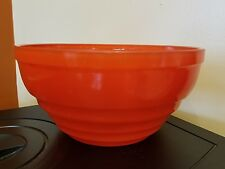 JEANNETTE GLASS RED MIXING BOWL HARD TO FIND