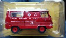 Camion Peugeot J7 AR Pompier de Paris  1/43 miniature collection
