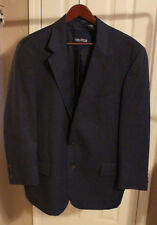 Nautica Navy Blue Wool Blazer Men's Sportcoat Jacket Coat Size 44R