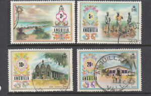 Anguilla 1972 part set good to fine used
