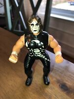 """WCW Sting 3"""" Action Figure 1998 O.S.F.T. (3)@"""