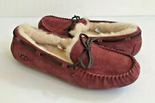 UGG DAKOTA REDWOOD SHEARLING LINED SLIPPERS US 11 / EU 42 / UK 9 - NEW