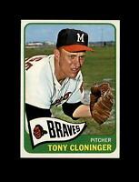 1965 Topps Baseball #520 Tony Cloninger (Braves) EXMT
