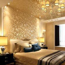 Vliestapete Barock Luxus Tapete Golden Wohnkultur Geprägte 10m*0.53m Ge