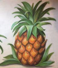 Tatouage Dry Rub Transfer Pineapple Kitchen Border - 24 FT Total