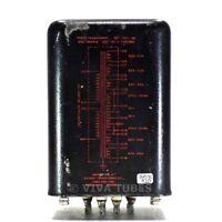 Vintage Chicago 50M-L-146 Power Transformer 5V 2A 6.3V 2.5A 6.3V 4A 570 V 150mA