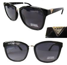 New GUESS GF0327 Black/Purple Womens Sunglasses-tiny defect