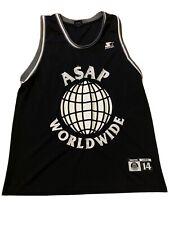 Rare Asap Rocky x Starter / A$Ap Worldwide Mob Hip Hop Rap Basketball Jersey