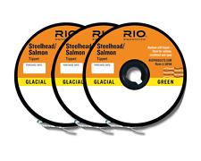 RIO STEELHEAD/SALMON TIPPET 3-PACK IN SIZES 10/12/16 LB 30YD SPOOL OF EACH SIZE