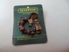 "Boyds Bear Bearwear ""Born to Shop"" Pin"