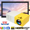 Mini Portable LED Projector 1080P HD Home Cinema Theater System PC Laptop Phone