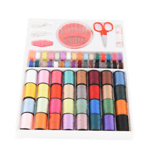 64 Spools Assorted Color Sewing Threads Needles Set Sewing Tools Kit Accessory S