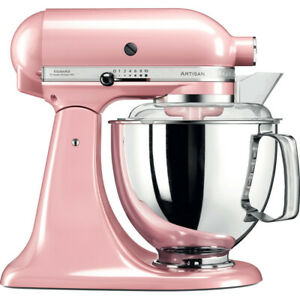 KitchenAid 5KSM175 PSBSP 4.8L Artisan Stand Mixer Silk Pink New Sealed