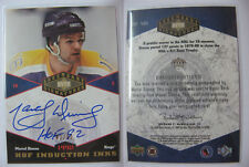 2004-05 UD Legendary Signatures Marcel Dionne 42/92 HOF induction inks auto