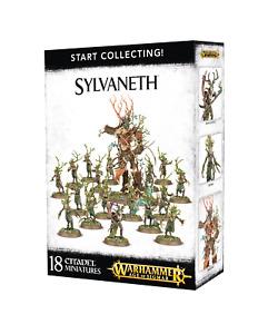 Start Collecting Sylvaneth Warhammer Age Of Sigmar. 70-92 BNIB