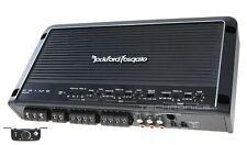ROCKFORD FOSGATE R600X5 +2YR WARNTY 600W 5 CHANNEL CLASS AB CAR AMP AMPLIFIER