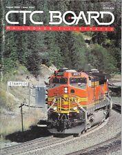 CTC Board #262 Aug.2000 Santa Fe Semaphores BNSF Stampede Pass Tunnel Washington