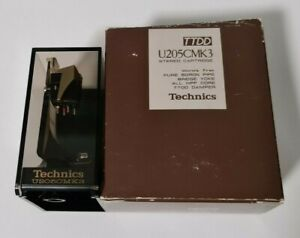 TECHNICS EPC-205C MK3 PURE BORON PIPE MOVING MAGNET CARTRIDGE & STYLUS IN BOX