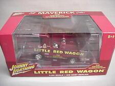 LITTLE RED WAGON BILL MAVERICK GOLDEN AUTOGRAPHED JOHNNY LIGHTNING 1/24 DODGE TR