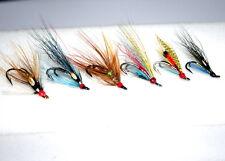 Dollaghan Flies, 6 double hook salmon flies