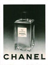 Publicité ancienne parfum Chanel eau de cologne 1950 issue de magazine
