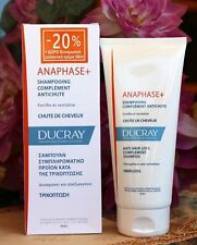 Ducray Anaphase shampoo 200ml.Hair Loss Prevention.WITH BOX.