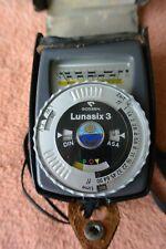 VERY GOOD Gossen Lunasix 3 light meter