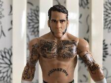 CM PUNK WWE Mattel Basic Series 40 ~ Wrestling Figure ~ RARE