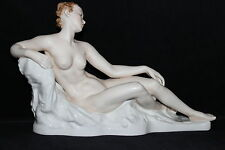 Rare Art Deco 34cm Rosenthal Figurine Nude Painted G Bredow china figure