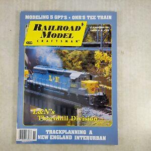 Railroad Model Craftsman Magazine 1993 November L & N's Thornhill Division GP7s